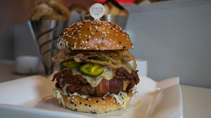 Photo Of Bacon Burger From Gordon Ramsay