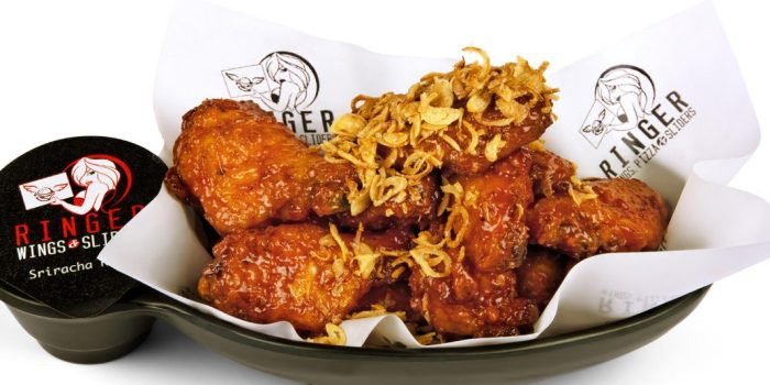 Ringer Wings, Pizza & Sliders Sports Book Vegas