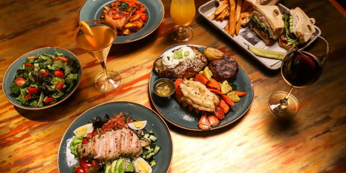 Entrees at All American Bar & Grille 032620
