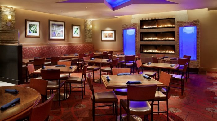 Photo Of All American Bar And Grille Dining Area Showing Tables Chairs At Rio Las