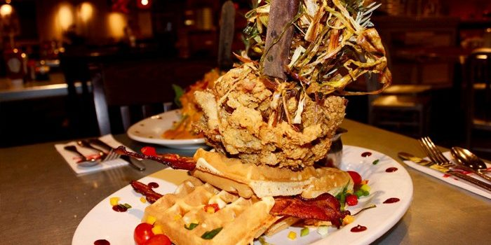 Photo Of Bacon Waffle At Hash House A Go Go At Rio Las Vegas