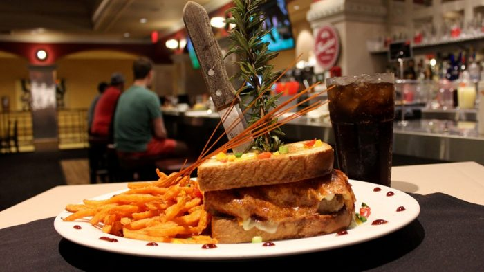 Photo Of Sandwich, Fries, And Drink From Hash House A Go Go At Rio
