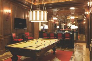 Caesars Titus Villa Billiard Room